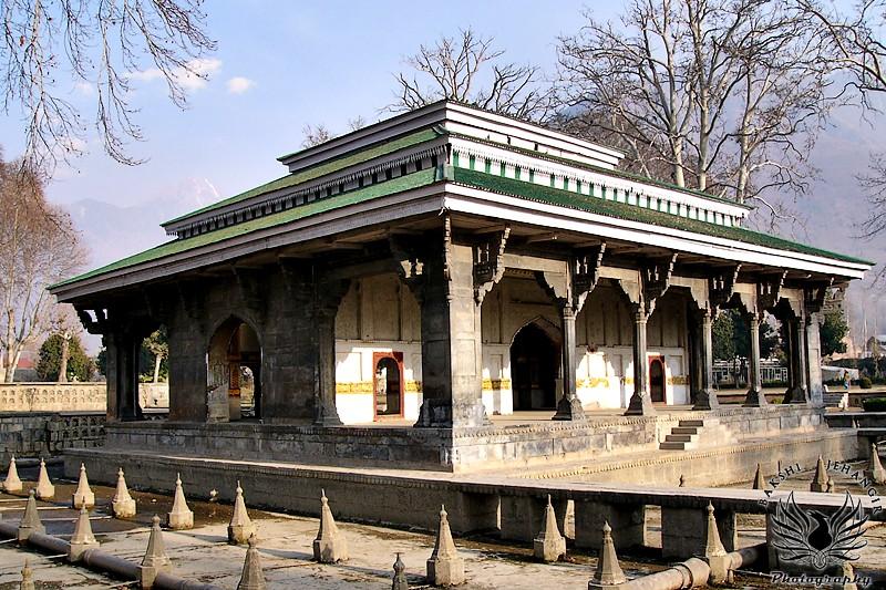 Black pavilion of Shalimar