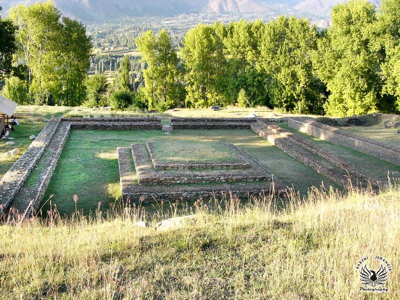 Harwan Buddhist Site
