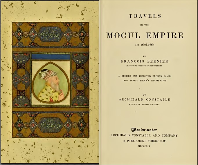 Bernier Kashmir Book