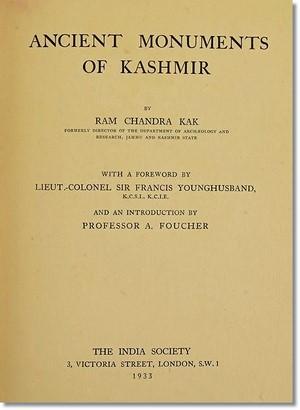 Kak Kashmir Book